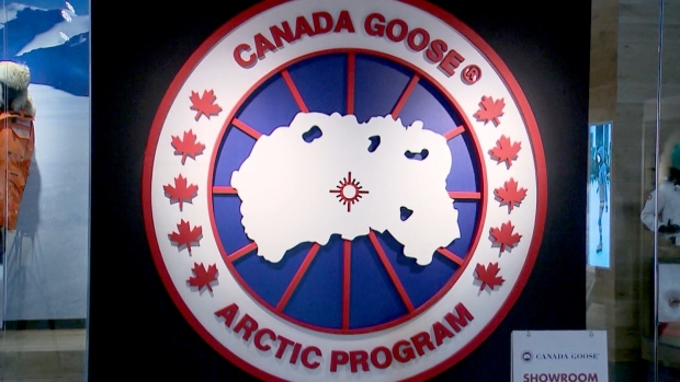 Canada Goose soars after posting a surprise profit (GOOS)