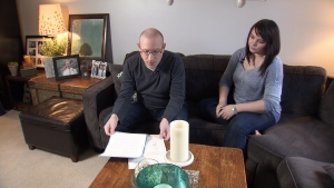After losing two family members, Chris and Jody King were left to deal with their estates without proper wills. (CTV)