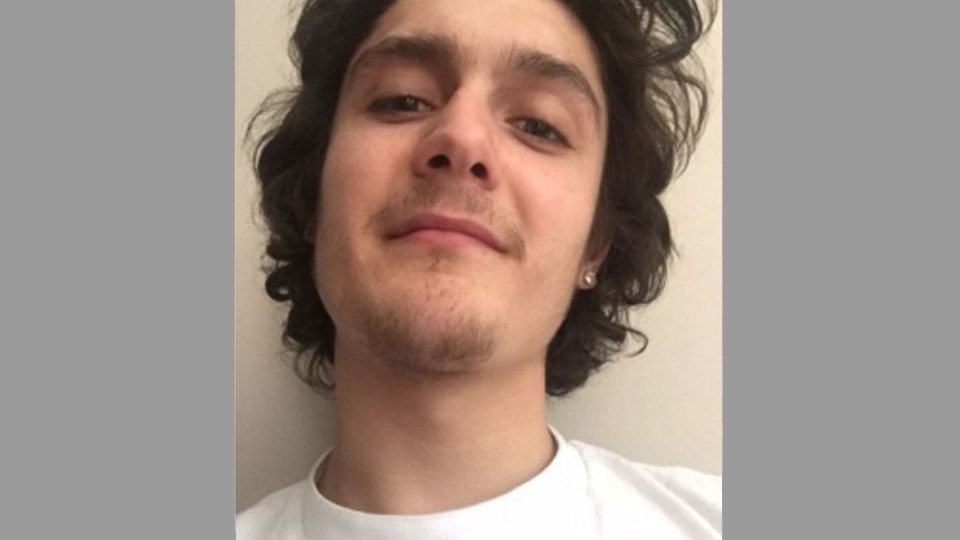 Dylan Greenaway is pictured in this photo released by Toronto police.