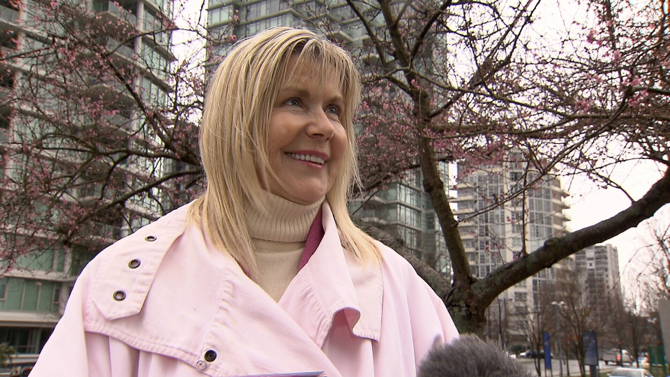 Linda Poole, founder and executive director of the Vancouver Cherry Blossom Festival, said several festival events have been rescheduled as a result of the missing blossoms. (CTV)