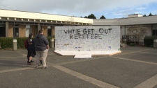 uvic sign white supremacy