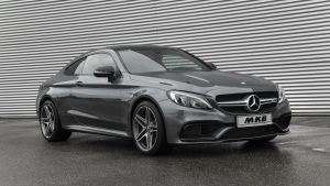 The MKB P 600 Mercedes AMG C 63 is seen in this provided photo. © MKB