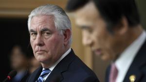 U.S. discusses military action against North Korea