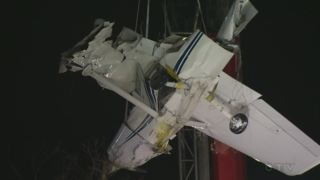Two planes collide over Promenade St-Bruno | CTV News Montreal