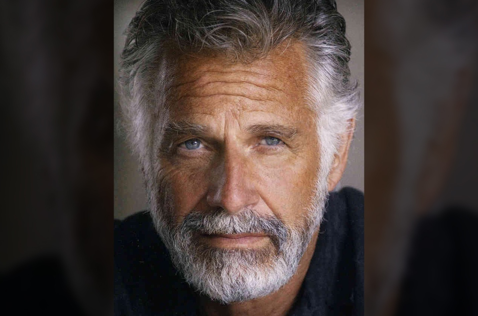 In this undated publicity photo released by Hathaway Communications, actor Jonathan Goldsmith is seen. (AP / Hathaway Communications, Michael Helms)