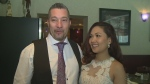 Windsor couple marries on St. Patrick's Day