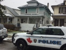 Windsor police are investigating a fatal shooting on Elsmere Avenue on Saturday, March 18, 2017. (Alana Hadadean / CTV Windsor)