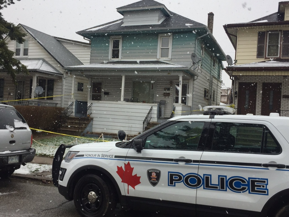 Windsor police are investigating a fatal shooting on Elsmere Avenue on Saturday, March 18, 2017.