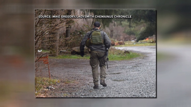 Chemainus manhunt