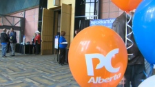 PC leadership convention at the TELUS Convention C