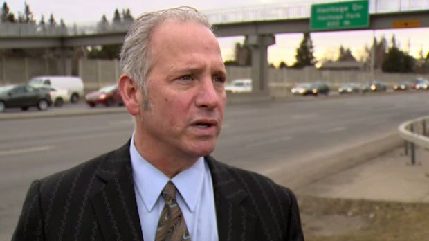 Alan Hallman discusses the SW BRT in a February 2016 interview with CTV Calgary.