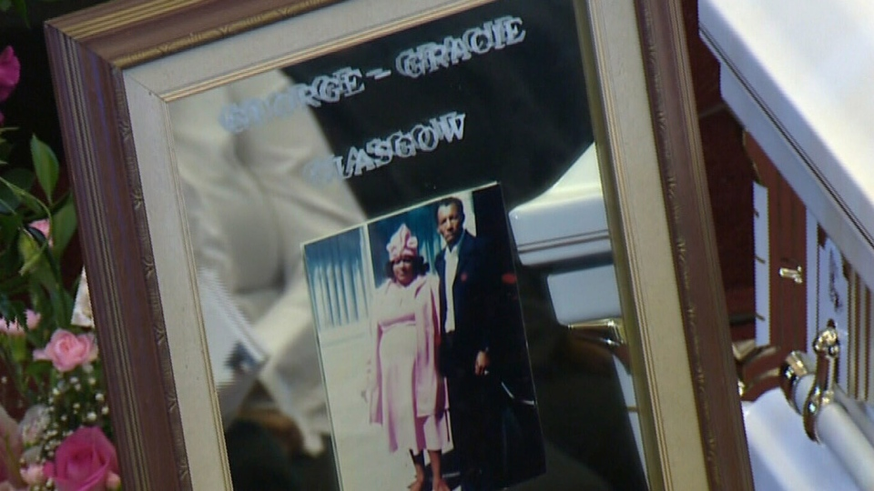 Gracie Mae 'Momma' Glasgow's funeral was packed with her hundreds of family members including 178 great grandchildren. (CTV Atlantic)