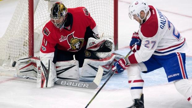 Canadiens Senators