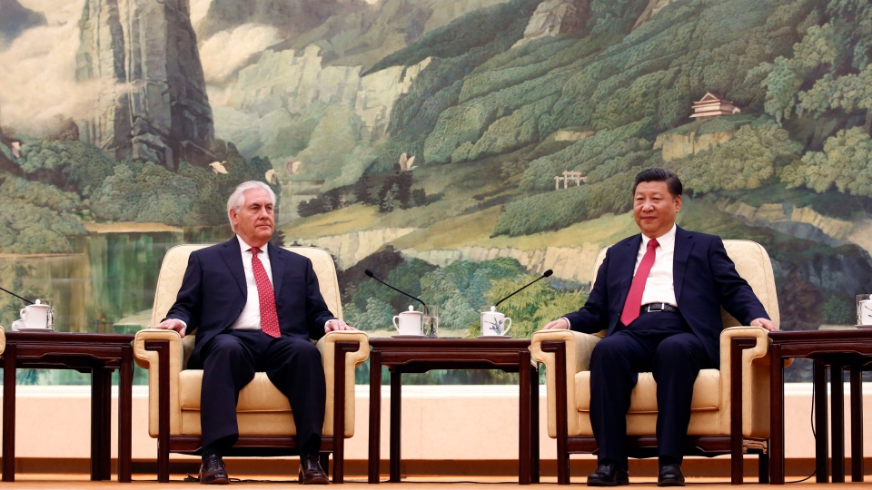 Image result for Xi meets  Trump in Florida