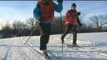 Skiing helps blind community adapt
