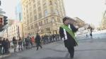 Coderre at parade