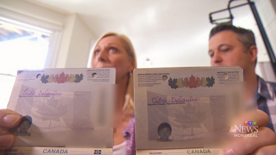 Frenois and Delmarbre said they had no idea about the rule when they filled in the boy's names.