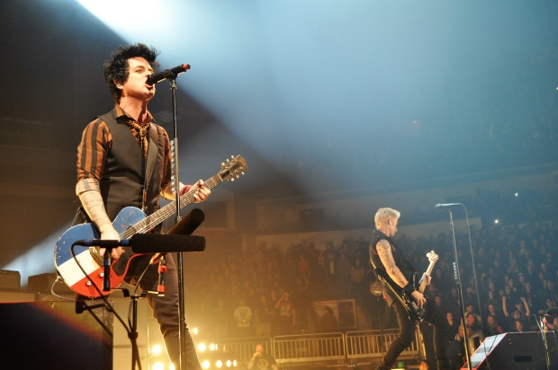 Lead singer of Green Day, Billie Joe Armstrong, and Bassist Mike Dirnt at Budweiser Gardens on Sunday, March 19, 2017. (Jim Hayes / CTV London)
