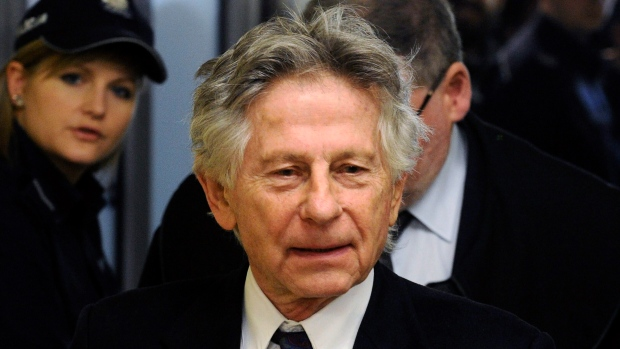 This Feb. 25, 2015 file photo shows filmmaker Roman Polanski during a break in a hearing concerning a U.S. request for his extradition over 1977 charges of sex with a minor, in Krakow, Poland. (AP Photo/Alik Keplicz, File)