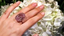 The Pink Star diamond in London