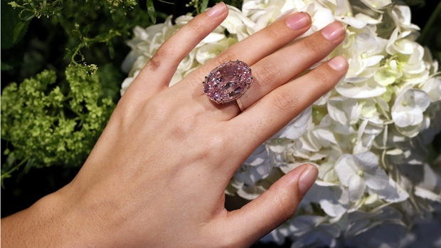 The Pink Star diamond auction