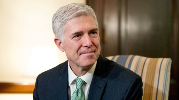 U.S. Supreme Court Justice nominee Neil Gorsuch