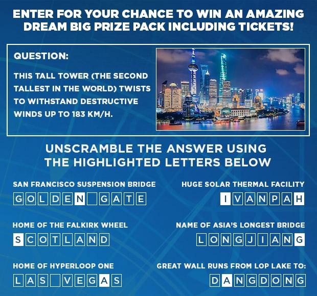 TWOSE - Dream Big IMAX - main contest