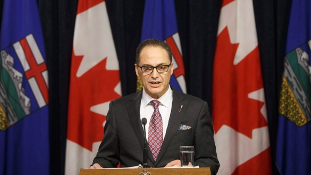 Alberta Finance Minister Joe Ceci in Edmonton