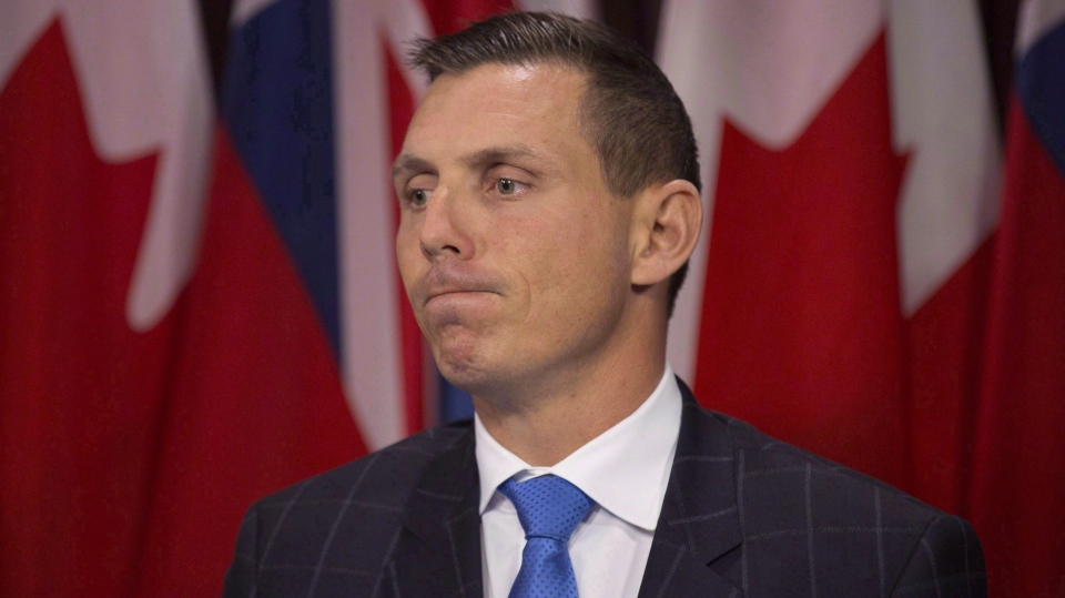 Progressive Conservative Leader Patrick Brown is seen in this file photo. (Peter Power/The Canadian Press)