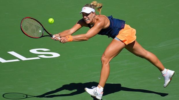 WTA Tennis: Kerber Cruises Against Petkovic In Indian Wells Opener