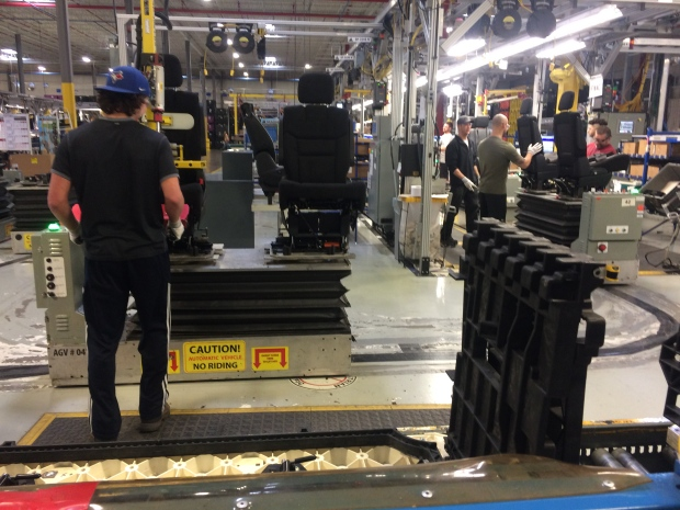 A look inside Integram Seating. (Michelle Maluske / CTV Windsor)