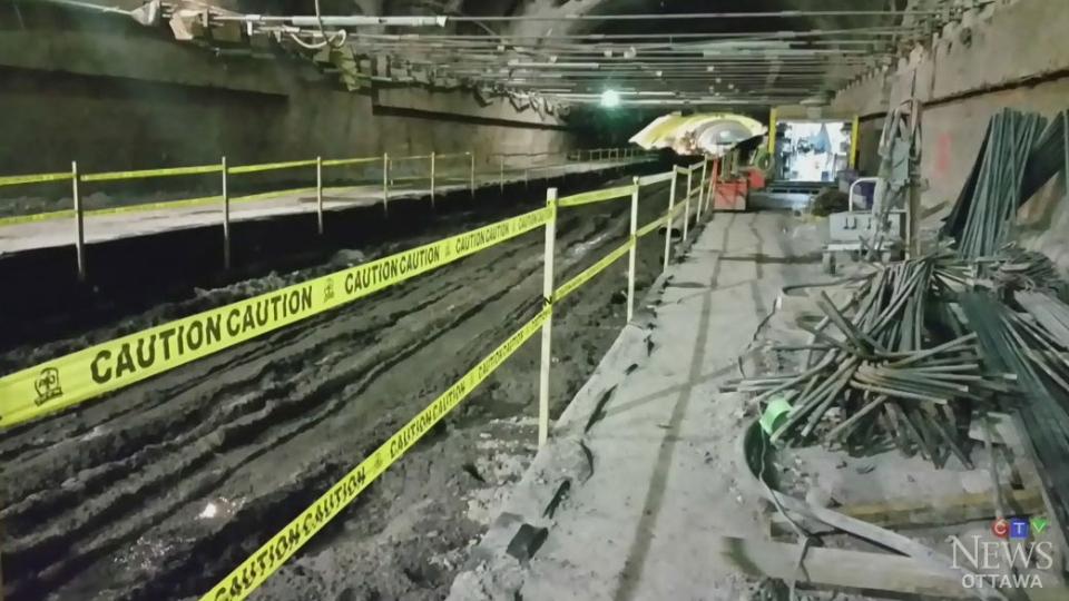 CTV News Exclusive: LRT tunnel worker injured
