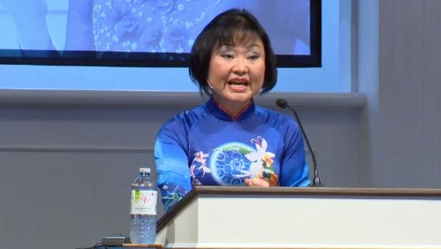 Kim Phuc Phan Thi will speak at the 35th anniversary of the Calgary Catholic Immigration Society.