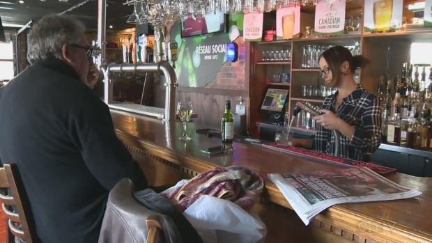cocktail, bar