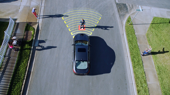 Ford Pedestrian Detection technology