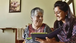 Indian companies are renting grandkids to lonely seniors