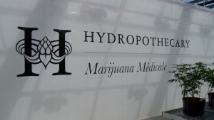 Hydropothecary is Quebec's only licensed producer of medical marijuana.