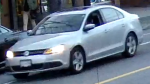Police released an image of a Volkswagen Jetta that was allegedly involved in a hit-and-run in Vancouver on March 18, 2017. (Handout)