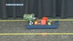 Hovercraft competition for Manitoba students