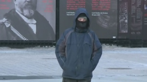 Cooler temperatures are expected to persist in Ottawa on Monday after a weekend of record-setting cold.