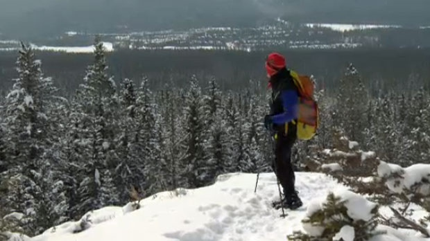Alan Hobson continues to enjoy the mountains after beating cancer.