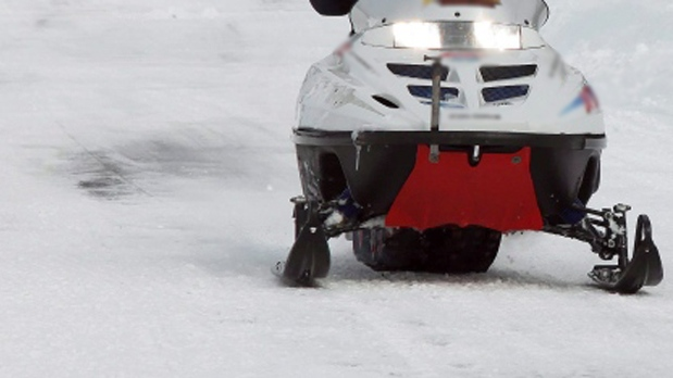 A snowmobile is pictured in this undated file image. (File Photo)