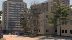 Residence buildings at the University of Waterloo are pictured on Wednesday, March 22, 2017.