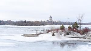 The Saskatchewan Legislative Building overlooks Wascana Lake in this CTV file photo.