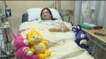 Case of strep nearly costs woman her life