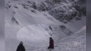 New video shows child, dad buried by avalanche