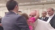 Pope's hat stolen