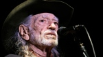 Willie Nelson performs in Nashville, Tenn., on Jan. 7, 2017. (Mark Humphrey / AP)