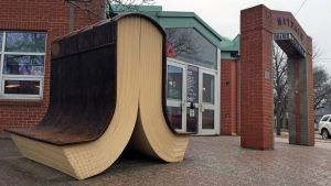 Mayfair Branch Library in Saskatoon is shown here on March 22, 2017. (Jim Barnsley/CTV Saskatoon)