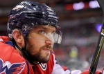 In this Tuesday, March 14, 2017, file photo, Washington Capitals left wing Alex Ovechkin (8), of Russia, looks on from the bench during the first period of an NHL hockey game against the Minnesota Wild in Washington. (AP / Nick Wass)